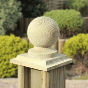 fence post end caps